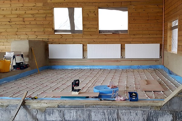Gas Boiler and Underfloor Heating Installation - image 1